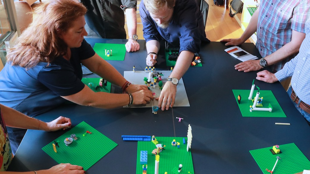 Serious Work: LEGO Serious Play Facilitation